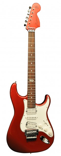 MJ Mastercaster Candy Apple Red with matching headstock