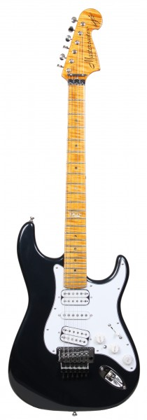 MJ Mastercaster, Metallic Black, Maple Neck