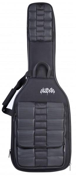 Canto Gig-Bag Urban E-Gitarre Doppel Schwarz