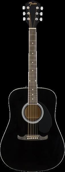 Fender FA-125 Dreadnought, Black NRW