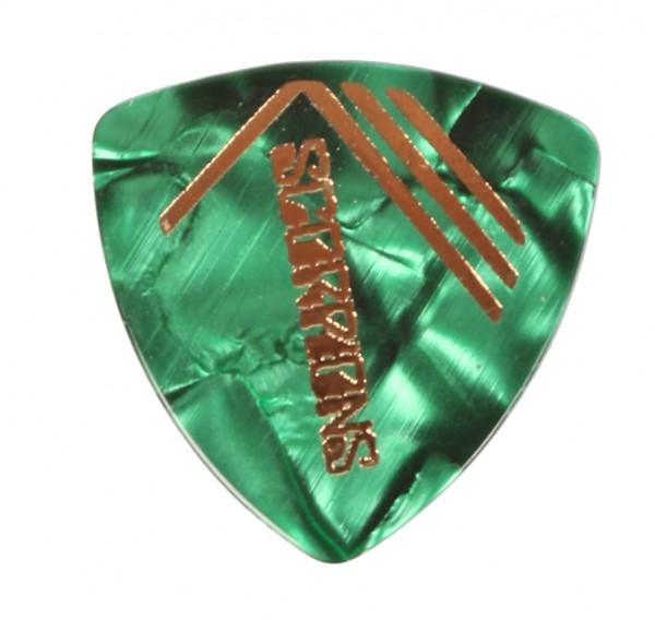 Picks Scorpions Triangle Perloid Grün