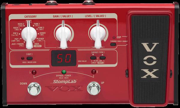 VOX StompLab II Bass Multieffektgerät E-Bass