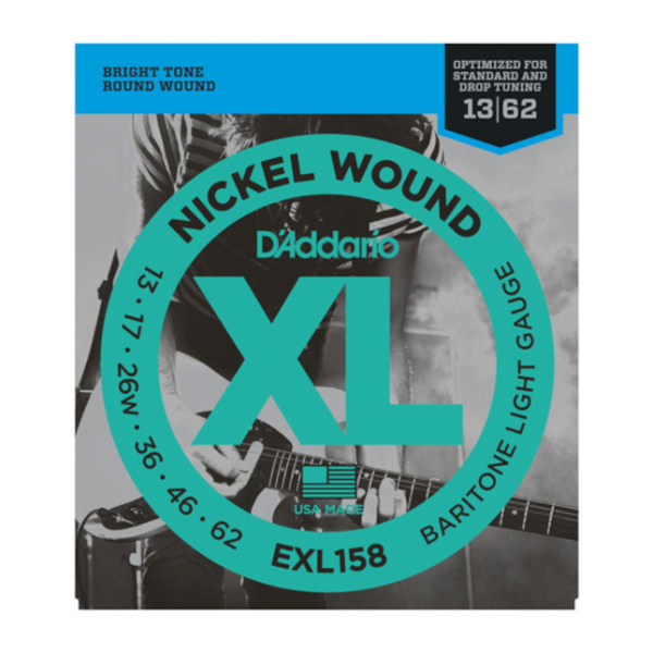 DAddario EXL158 Saiten E-Gitarre Bariton