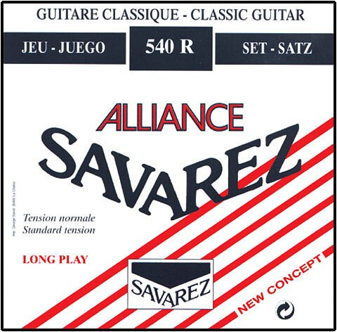 Savarez 540 R Alliance rot Standard Tension