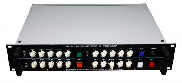 Skrydstrup CGP4 All Tube 4-Channel Preamp MJ