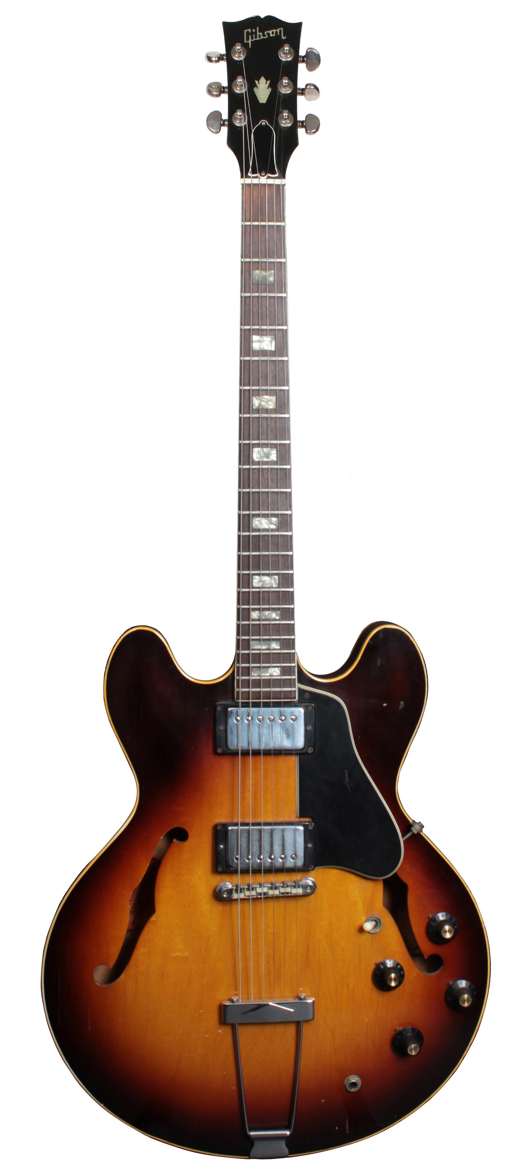 gibson es 335 1968 sunburst e gitarren vintage mj guitars. Black Bedroom Furniture Sets. Home Design Ideas