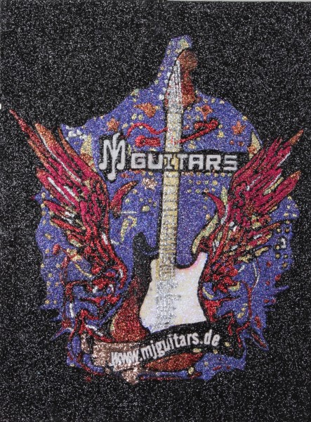 Glitterbild Guitarwings