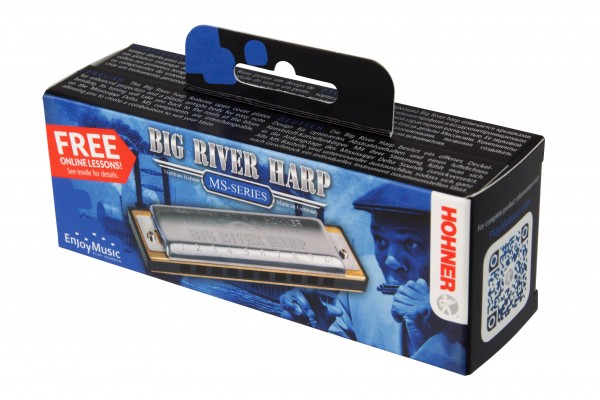 Hohner Big River Harp D MS