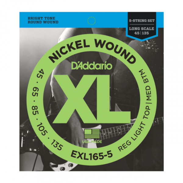 DAddario EXL160-5 Saiten Bass