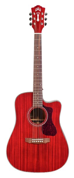 Guild D-120CE Cherry