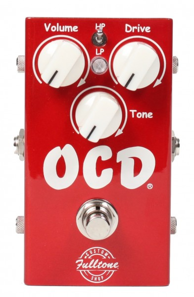 Fulltone Custom Shop Limited Edition Candy Apple Red OCD