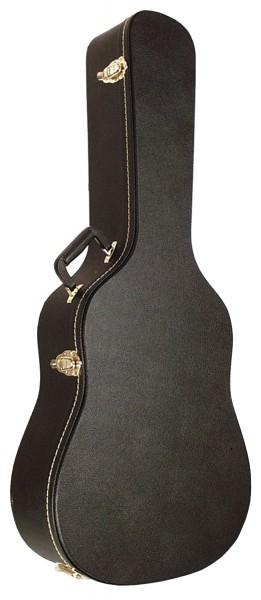 SCC Koffer für Westerngitarre flach