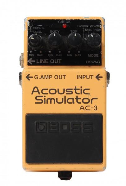 Boss AC-3 Acoustic Simulator (Used)