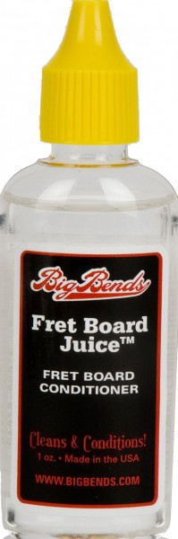Big Bends Fret Board Juice 1 oz. Bottle