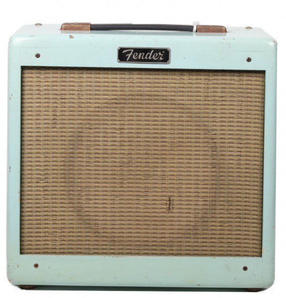 Fender Pro Junior Daphne Blue Relic LTD Edition