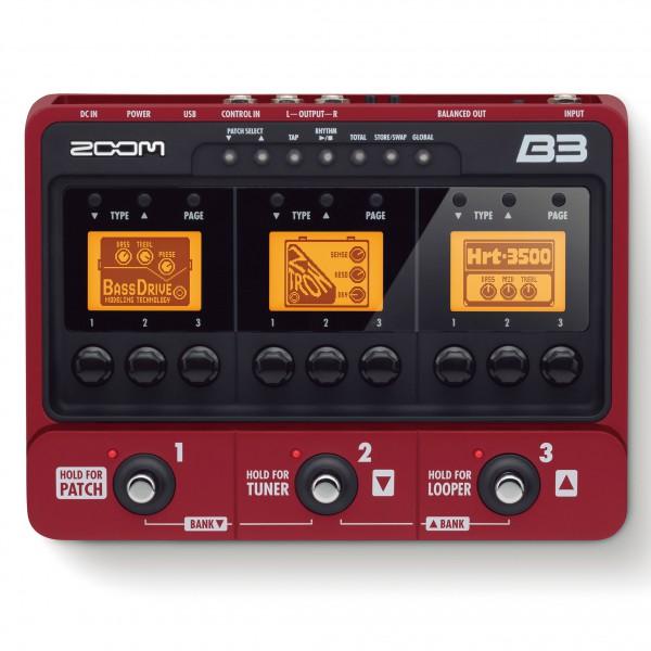 Zoom B3 Bassmultieffektgerät