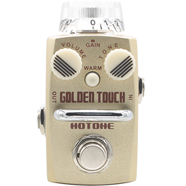Hotone Golden Touch Stompbox