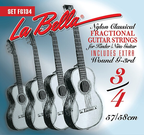 La Bella FG 134 3/4 Gitarre