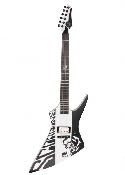 Anca Scorpions Black/White Guitar