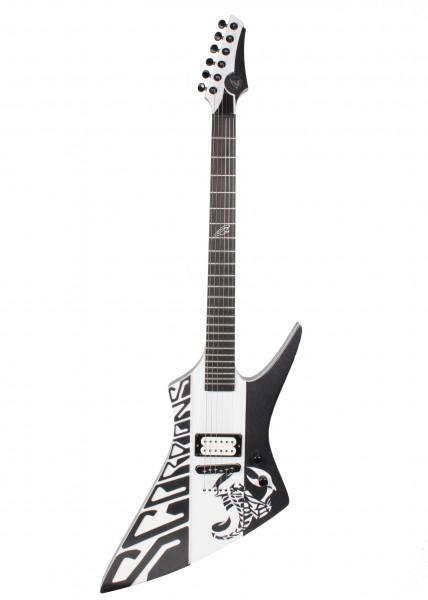 Anca Scorpions Black/White Guitar