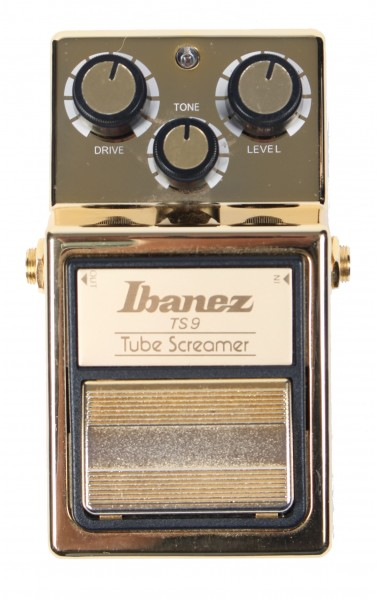Ibanez TS 9 Tubescreamer Gold Limited Edition (second hand)
