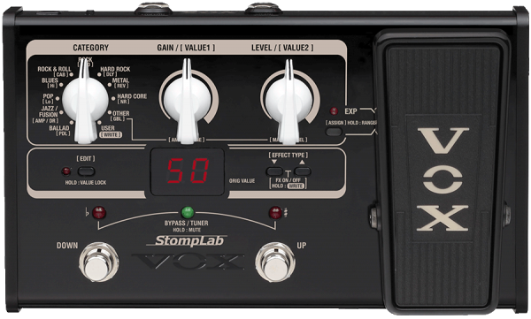Vox StompLab IIG Multieffekt E-Gitarre