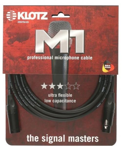 Klotz M1FM1N1000 Mikrofonkabel 10 m schwarz