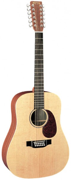 Martin D12X1AE Westerngitarre