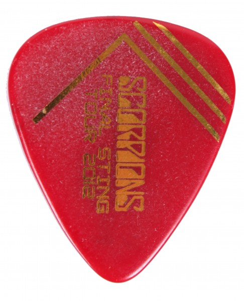 Picks Scorpions Final Sting 2012 Red/Gold