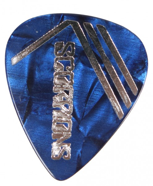 Picks 02 Scorpions Blue Sparkle