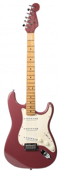 Fender AM Strat MN Burgundy Mist matching Headstock 1995