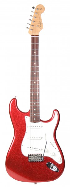 Fender CS 62 Strat NOS Red Sparkle 2011